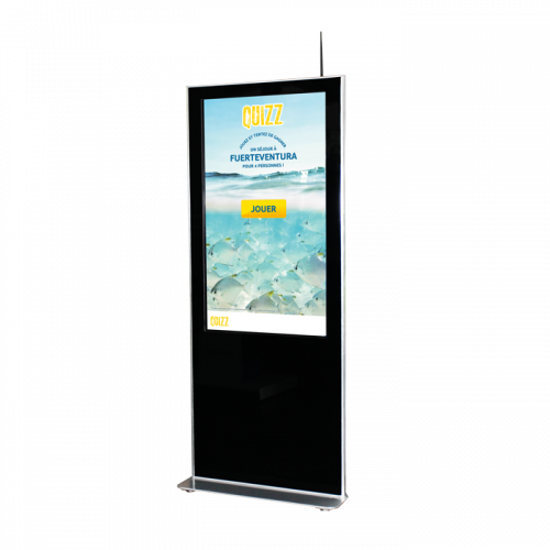 Totem tactile full HD 43 ou 55 CORONA
