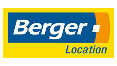 Logo Berger Location - location borne interactive