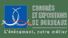 Logo Congrès et Expositions de Bordeaux - location borne interactive