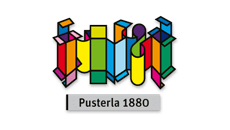 Logo Pusterla 1880 - location borne interactive
