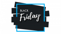 Logo black friday