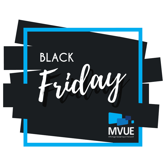 Logo black friday Mvue