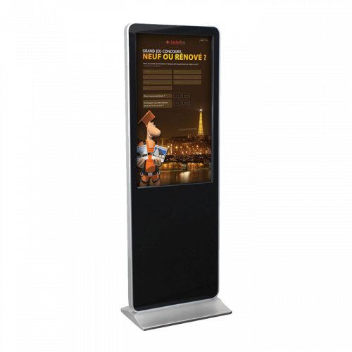 Totem tactile full HD 43 49 ou 55 TUCANA